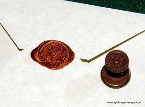 Gear Wax Seal