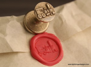 Locomotive Wax Seal